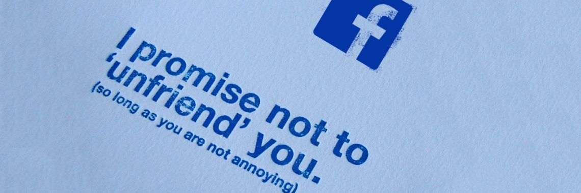 Top 5 reasons for why you were unfriended on Facebook