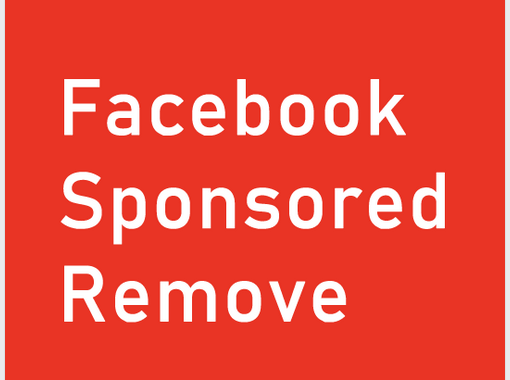 Facebook Sponsored Remove